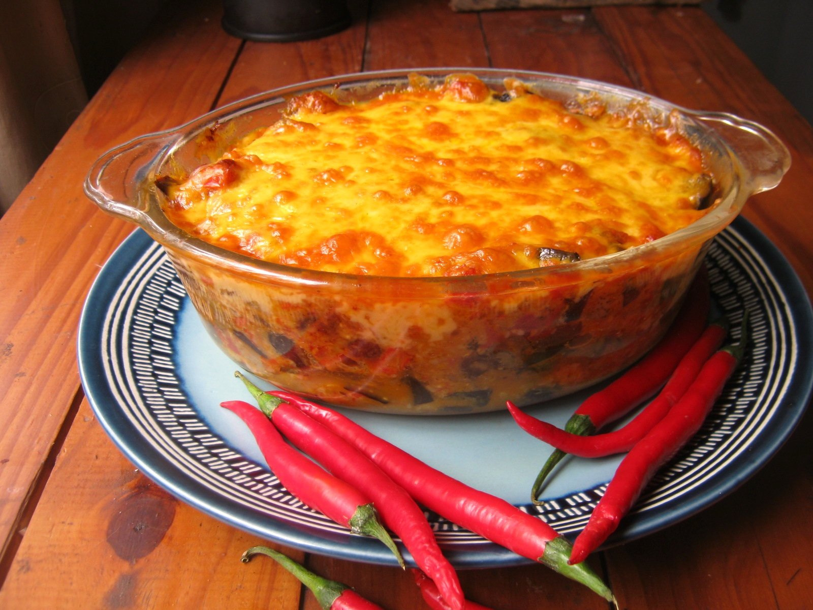 Fruity and spicy Cape vegetable casserole