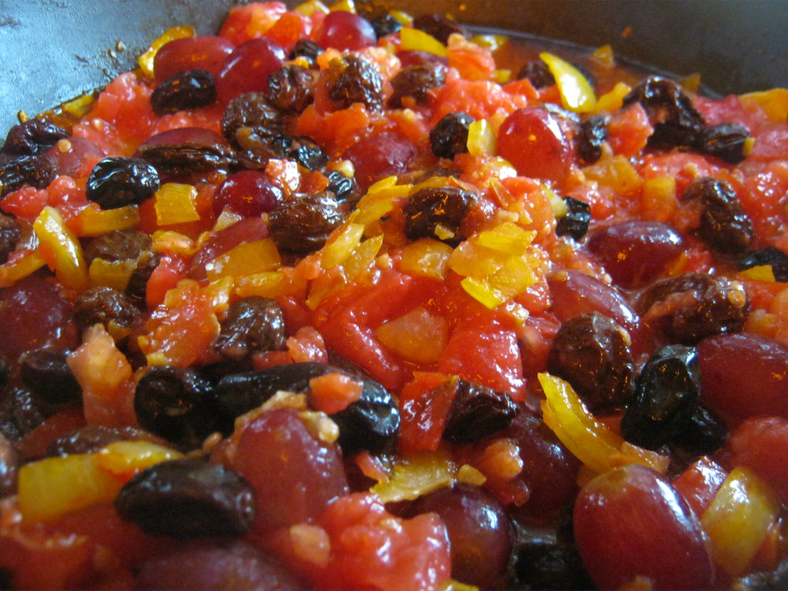 Fruits like these used in our Cape vegetable casserole are often a good addition to the diet