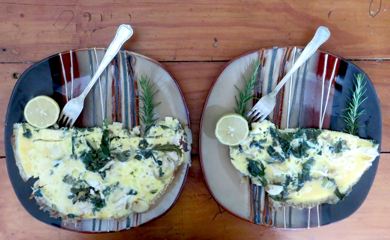 Lovers Garden Omelettes served in bowls