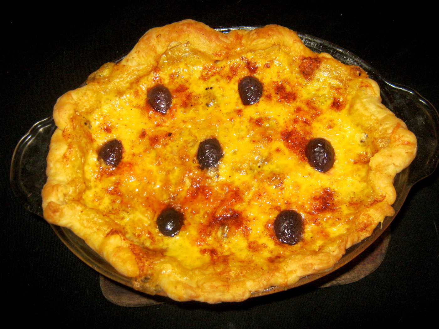 Chicken Pot Pie with Olives