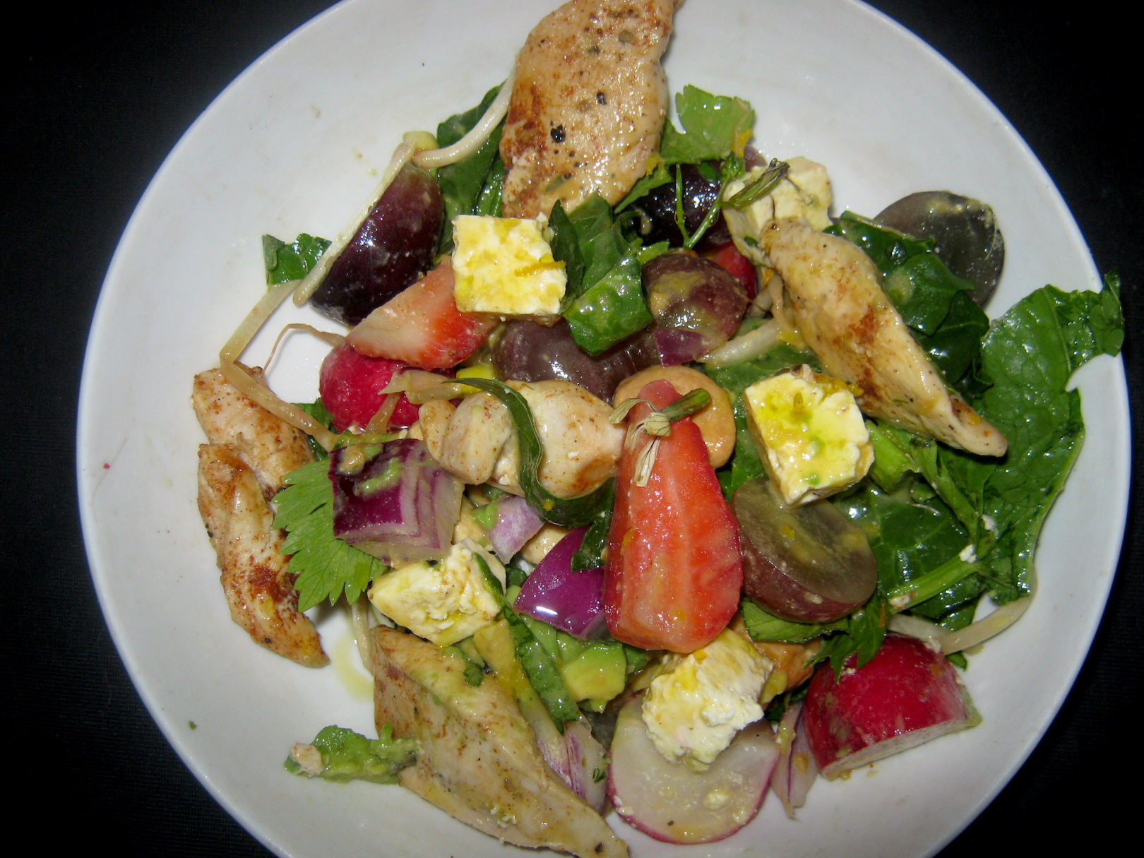 Salads like this can be Quick and Easy Healthy Recipes