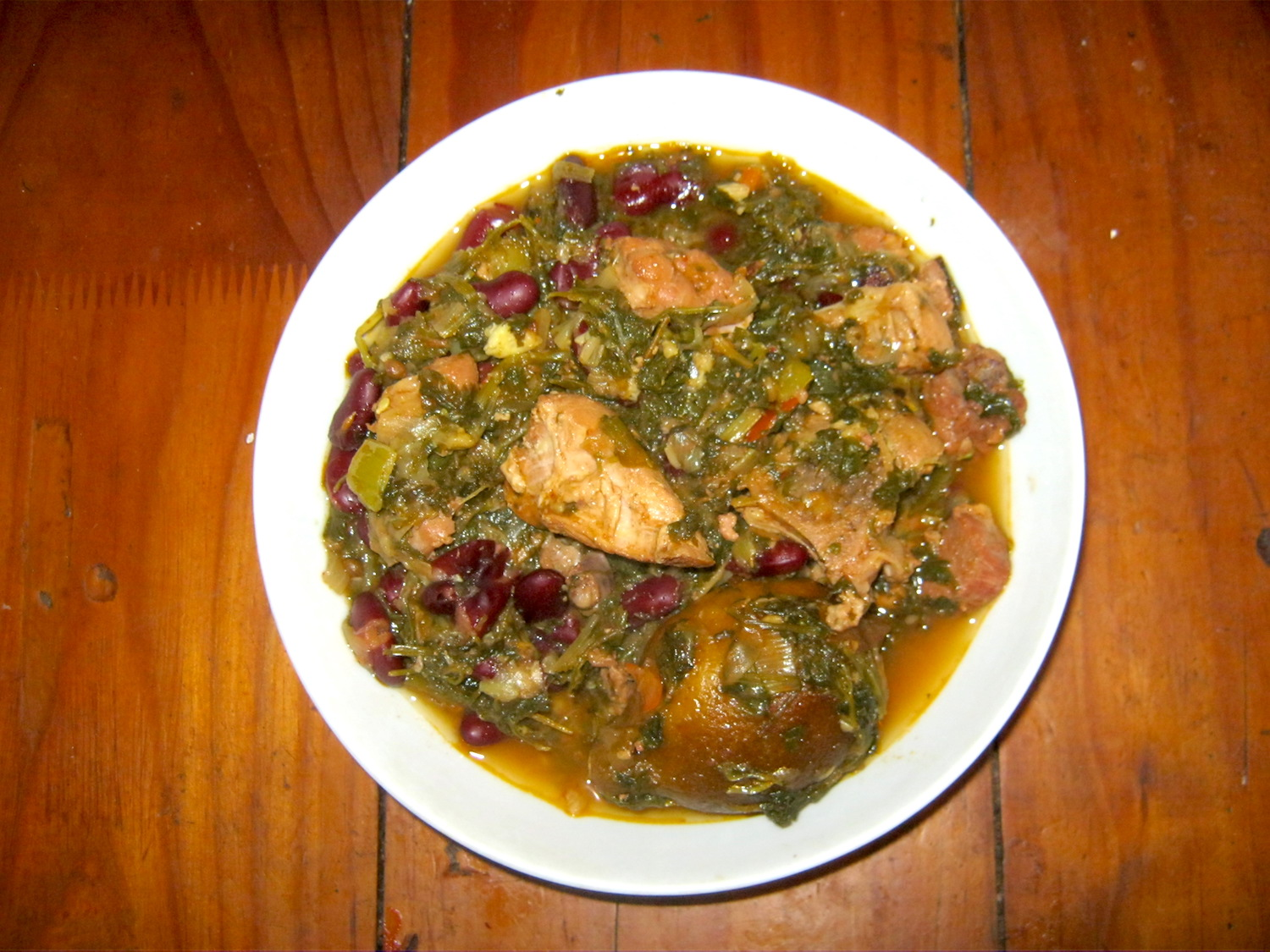 Ghormeh Sabzi is a traditional Persian herb stew