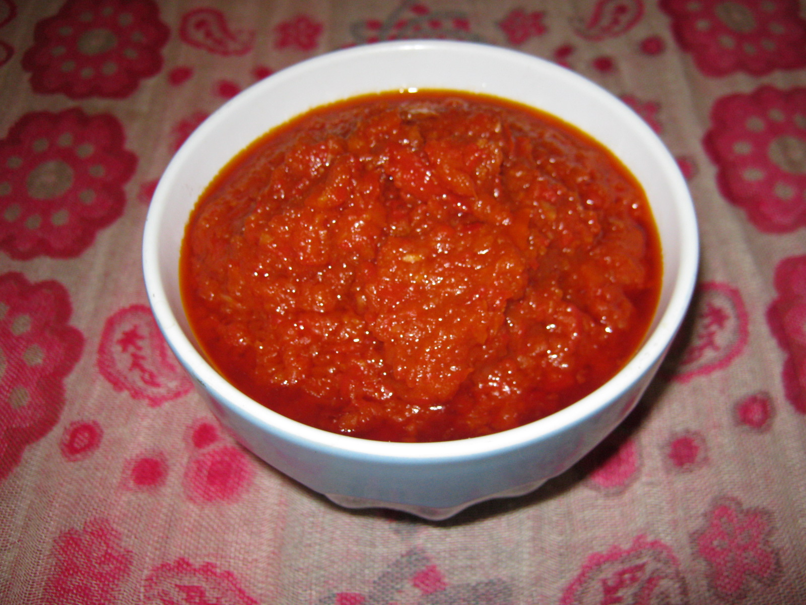 Ata dindin - Hot Nigerian Fried Pepper Sauce