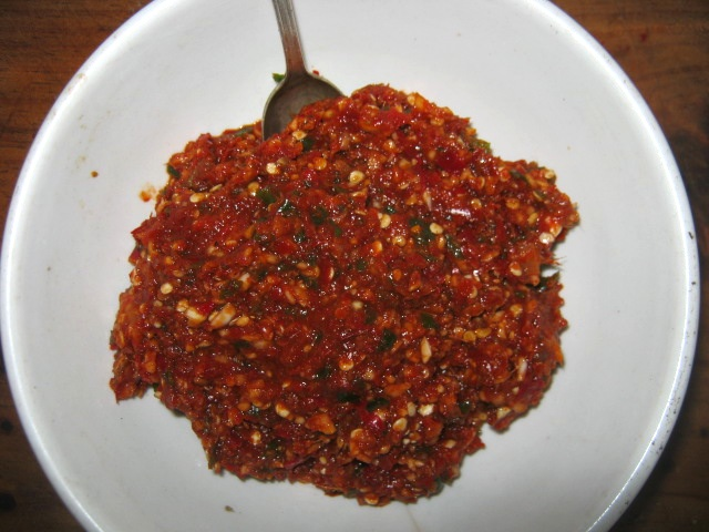 Indian red masala paste