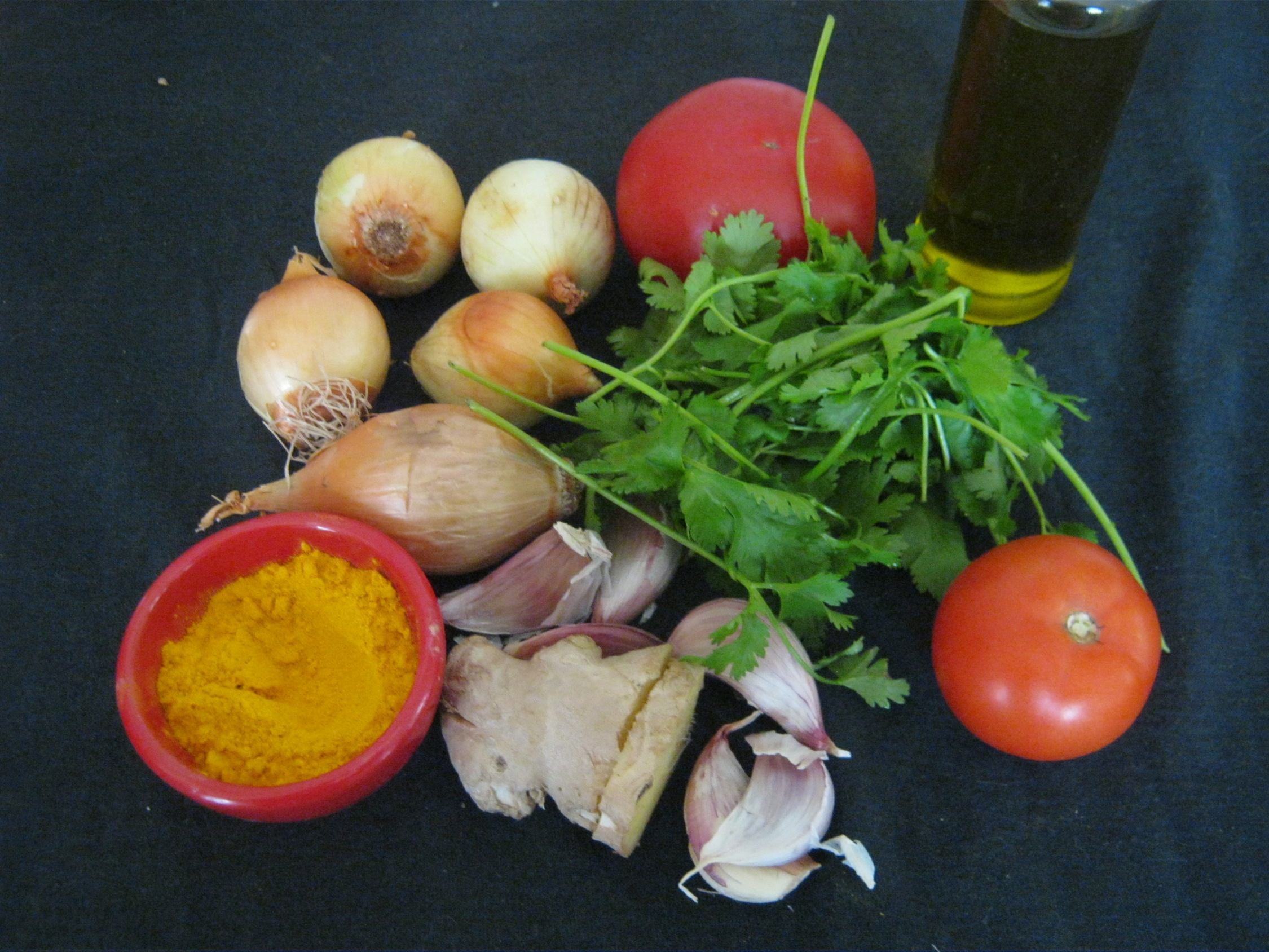 Ingredients for Kolhapuri Chicken