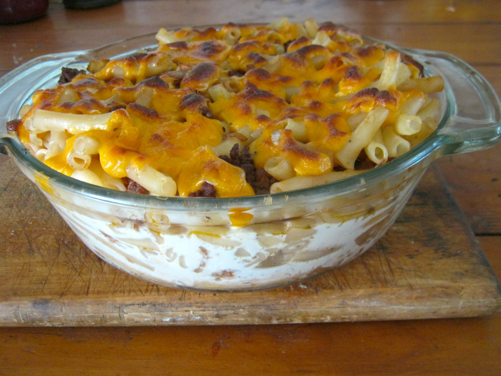 Strasbourg casserole - A beef casserole with red wine, cream and fresh herbs