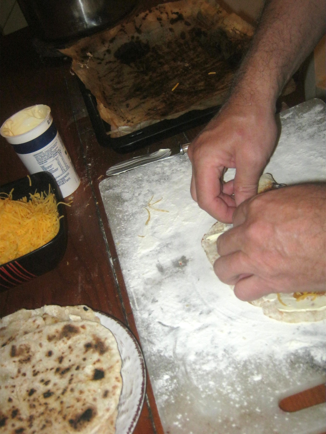 Quick and Easy Wheat Tortillas